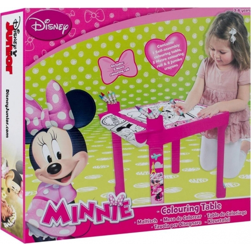 Disney Minnie Mouse Colouring Table Stationery