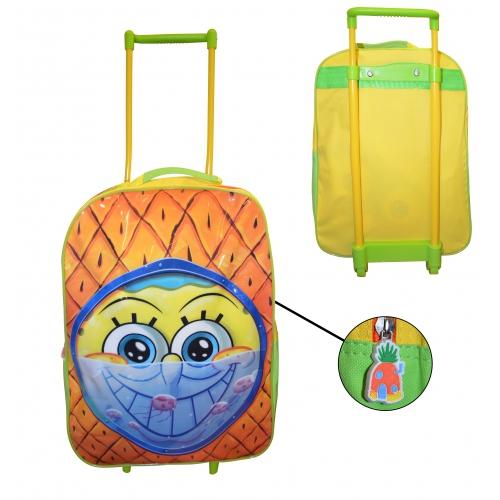 Spongebob Squarepant School Travel Trolley Roller Wheeled Bag