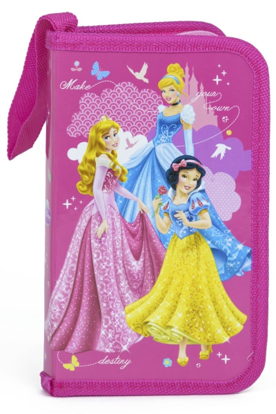 Disney Princess 'Friends' Filled Pencil Case Stationery