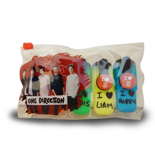 One Direction 5 Pk Highlighter Stationery