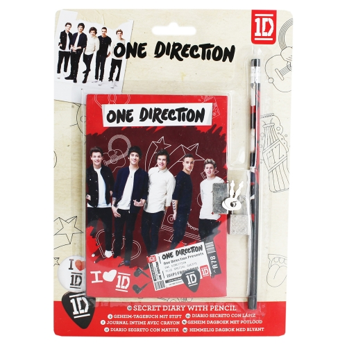 One Direction Secret Diary Stationery