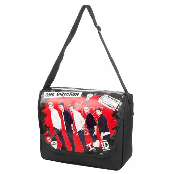 One Direction ' Red School Messenger Bag
