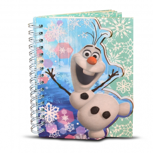 Disney Frozen 'Olaf' A6 Spiral Notebook Stationery