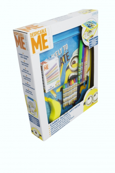 Despicable Me Minions 'Carry Along' Art Desk Stationery