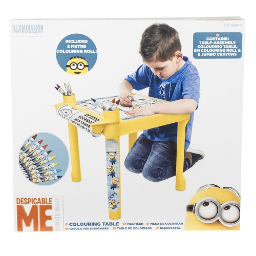 Despicable Me Minions Colouring Table Stationery
