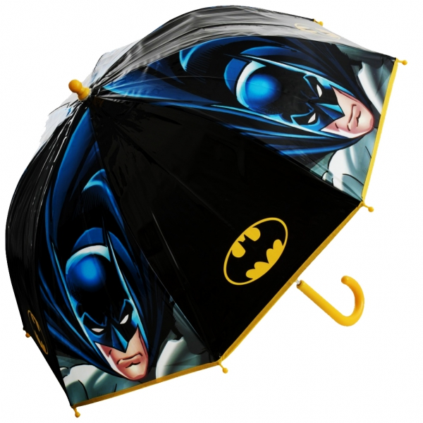 Batman 'Bubble' School Rain Brolly Umbrella