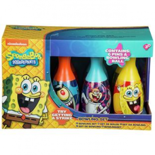 Spongebob Bowling Set Toy