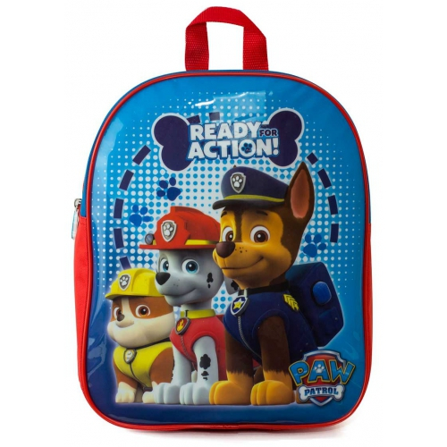 Nickelodeon Paw Patrol 'Ready For Action' Boys Junior School Bag Rucksack Backpack