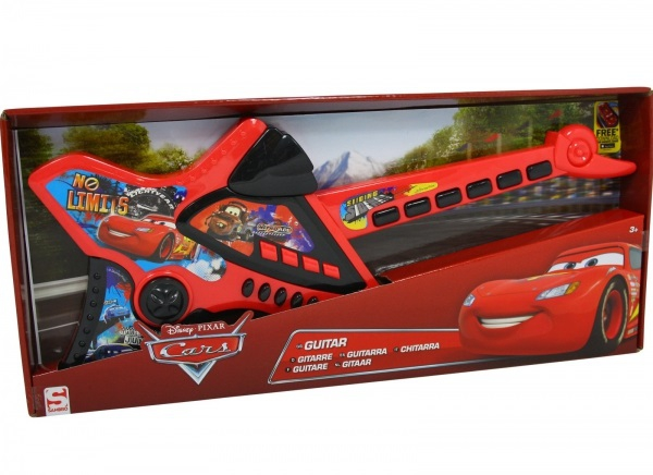 Disney Cars Neon 'Musical' Guitar Toy