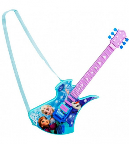 Disney Frozen '6 String Deluxe' Guitar Toy