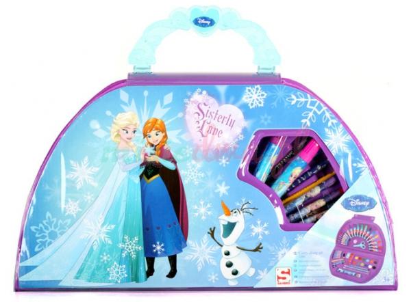 Disney Frozen 'Carry Along' Art Case Stationery