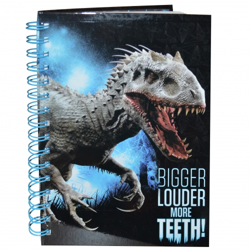 Jurassic World 'A5 Spiral' Notebook Stationery