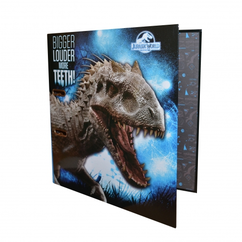 Jurassic World 'Lever Arch File' Ringbinder Folder Stationery