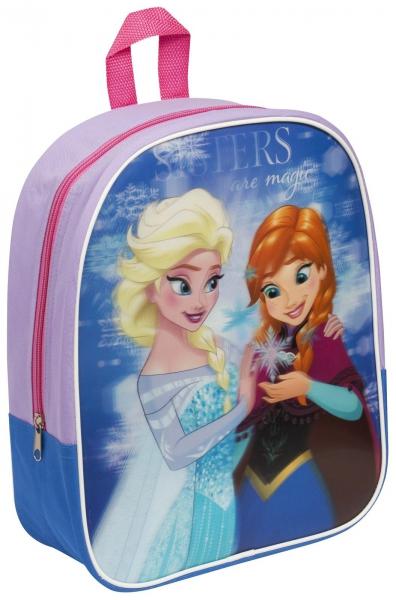 Disney Frozen 'Sisters Are Magic' Girls Junior Lenticular School Bag Rucksack Backpack