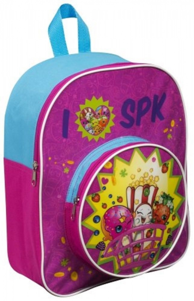 Shopkins 'Round Pocket' Junior School Bag Rucksack Backpack