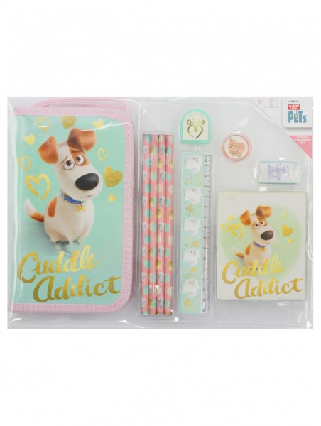 The Secret Life of Pets 10 Piece Stationery Set