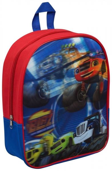 Blaze and The Monster Machines 'Lenticular' Junior School Bag Rucksack Backpack