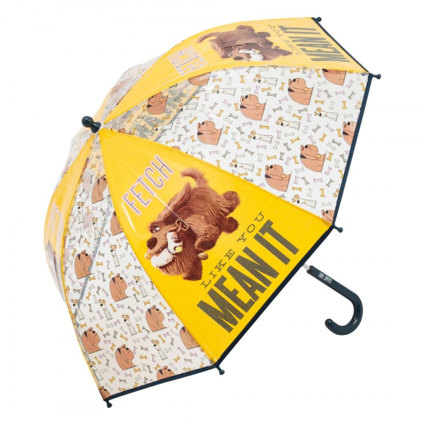 The Secret Life of Pets 'Boys' School Rain Brolly Umbrella