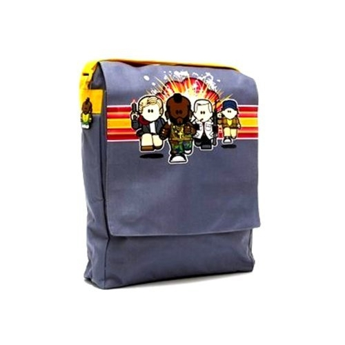 Weenicons 'a Team Mr T' Messenger School Despatch Bag