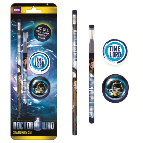 Doctor Who Stationery Set