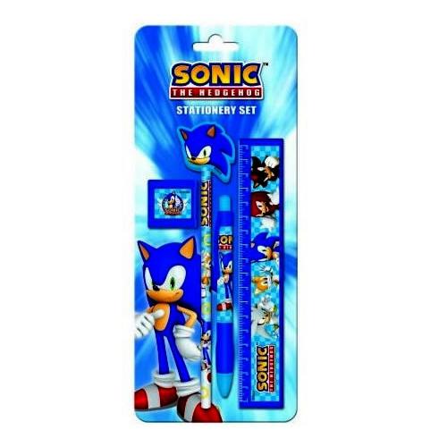 Sonic The Hedgehog Stationery Set