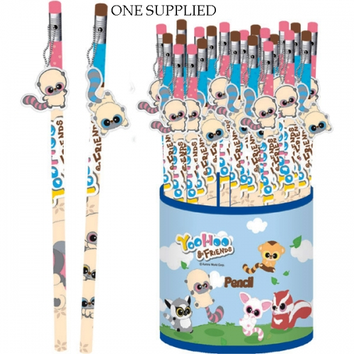 Yoohoo & Friends Assorted Pencil Stationery
