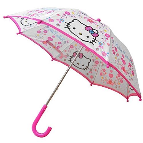 Hello Kitty 'Folky' School Rain Brolly Umbrella
