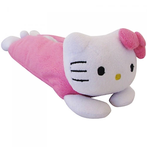 Hello Kitty 'Classic' Shaped Plush Pencil Case Stationery