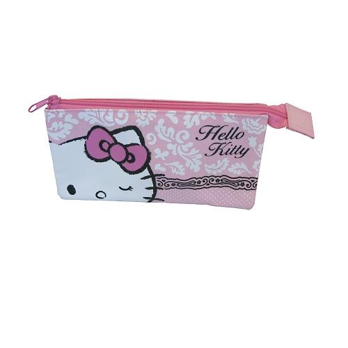 Hello Kitty 'Rococo' 3 Pocket Pencil Case Stationery