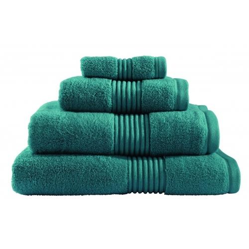 Towel Catherine Lansfield Zero Twist 550gsmteal Plain Face
