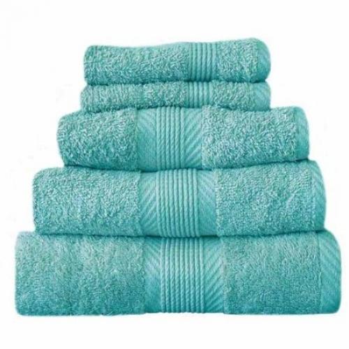 Towel Catherine Lansfield Home 450gsm Aqua Plain Face