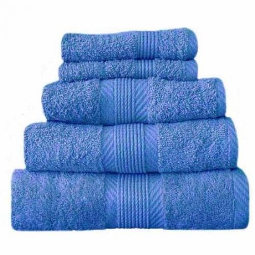 Towel Catherine Lansfield Home 450gsm Cobalt Blue Plain Face