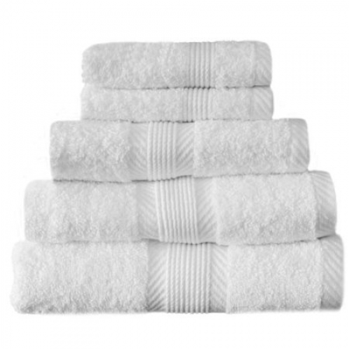 Towel Catherine Lansfield Home 450gsm White Hand