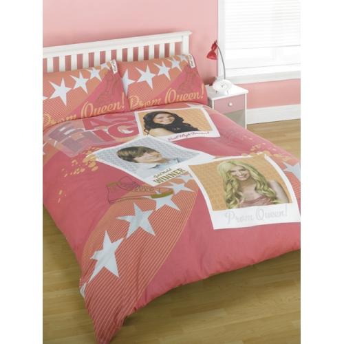 Disney High School Musical Panel Double Bed Duvet Quilt Cover Set