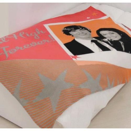 Disney High School Musical Prom Panel Fleece Blanket Throw