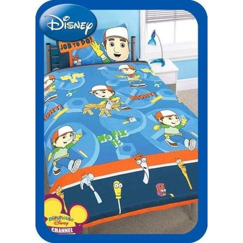 Disney Handy Manny Working Rotary Single Bed Duvet Quilt Cover Set
