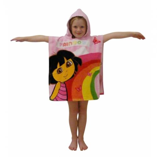 Dora The Explorer Poncho Towel