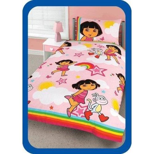 Dora Star Rotary Single Bed Duvet Quilt Cover Set