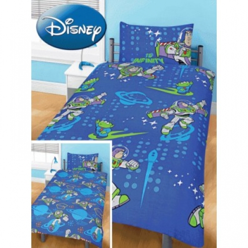 Disney Toy Story Infinity Rotary Single Bed Duvet Quilt Cover Set