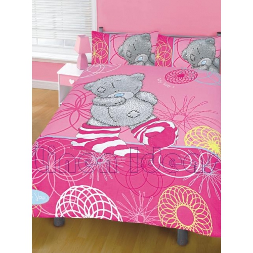 Me To You Socks Panel Double Bed Duvet Quilt Cover Set