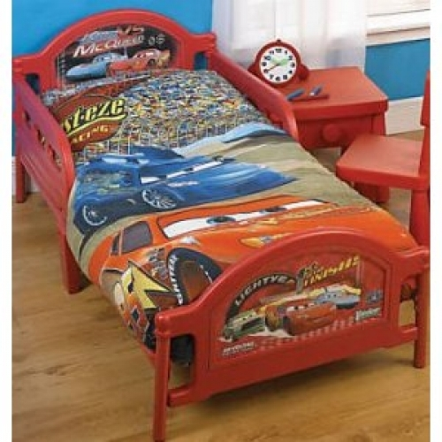 Disney Cars Limit Toddler Bed Junior Frame