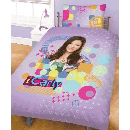 Icarly Panel Single Bed Duvet Quilt Cover Set