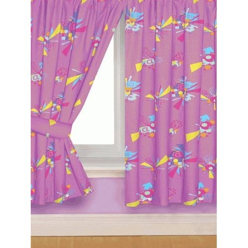 Icarly Icons 66 X 72 inch Drop Curtain Pair