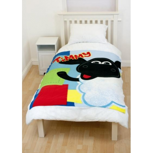 Timmy Time Panel Fleece Blanket Throw
