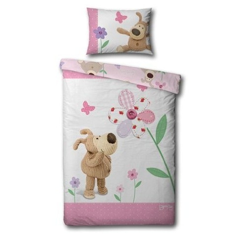 Boofle Spring Panel Single Bed Duvet Quilt Cover Set