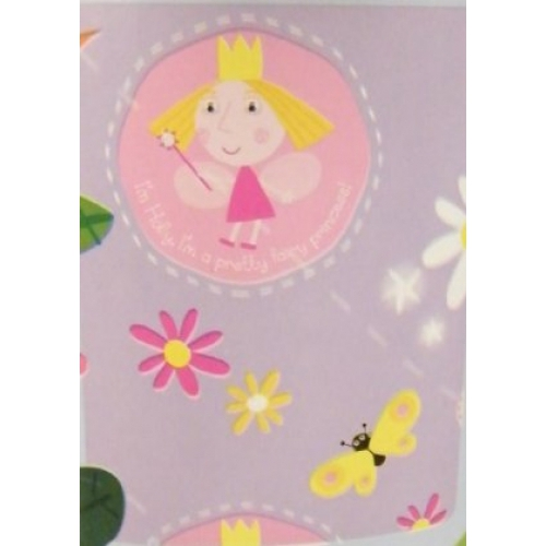Ben and Holly' S Little Kingdom Rotary Fleece Blanket Throw