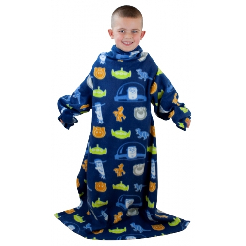Toy Story 3 Space Cosy Wrap Blanket Sleeved Fleece