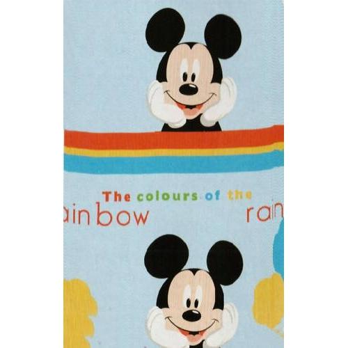 Disney Mickey Mouse Clubhouse Rotary Fleece Blanket Throw
