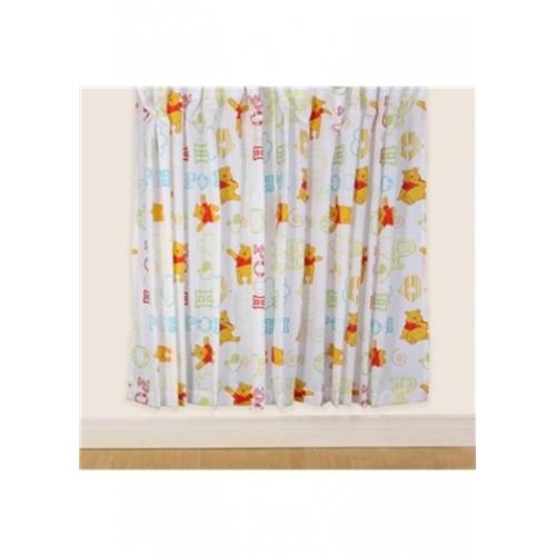 Disney Winnie The Pooh 'Playground' 66 X 72 inch Drop Curtain Pair