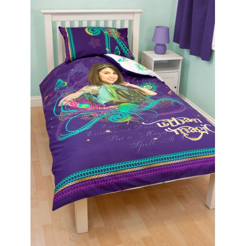 Disney Wizards of Waverly Place 'Magic'' Panel Single Bed Duvet Quilt Cover Set